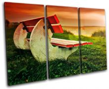Bench romantic Sunset Seascape - 13-0350(00B)-TR32-LO